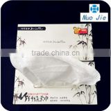 100% bamboo nonwoven cleaning wipes packed in box