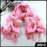 A65-A Women Butterfly Chiffon Polyester Cotton Woman Scarf