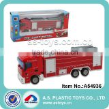 Top quality hot selling 1:64 scale silding red diecast fire trucks