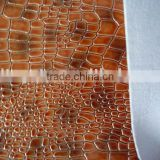 premium cow leather with mesh bonded fabric