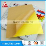 MANUFACTURER CUSTOM SELF ADHESIVE KRAFT PAPER LABEL STICKER PRINTING ROLL ADHESIVE PAPER LABEL