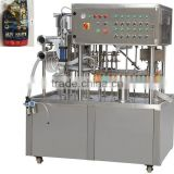 Ketchup/tomato paste sauce stand spout pouch filling and capping machine with date printer CE certificate factory price