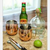 High quality manufacturer moscow mule copper mug/copper plated mug