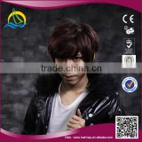 High quality High Temperature Fiber wigs for men