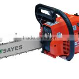 38cc gasoline chain saw with 18 inch guide bar and chain