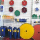 WELD laser diamond saw baldes for cutting all kinds of stones,concrete