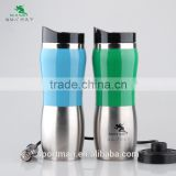 auto electronic stainless steel tea cup heating car mug special handle&lid design water mug