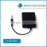 Hot sales!Factory supply, 3.5mm Bluetooth Audio Transmitter A2DP Stereo Dongle Adapter for TV iPod Mp3 MP4