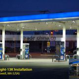 Wholesale gas station led canopy lights 120w / gas station lighting / Parking and Garage Canopy Fixtures