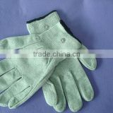 massage glove for electric therapy machine/tens unit gloves