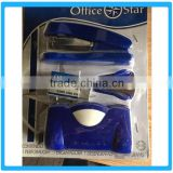 Yiwu High Quality Office&School Products Stationery Set Promotional Stapler Set