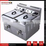 Easy to Use and Best Price CHINZAO Brand LPG Gas Deep Fryer with Temperature Controller