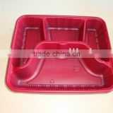 biodegradable disposable plastic food container making machine