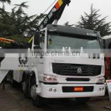 SINOTRUCK HOWO heavy duty rotator wrecker towing truck for sale
