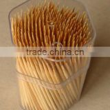 LC0001 Hot sale toothpick in transparent toothpick holder