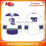 Latest customized youth polyester ice hockey jersey blackhawks design/european hockey jerseys cheap