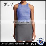MGOO Design Your Own Logo Sleeveless Tank Top And Dress Sport Suit Sport Wear Women Dri Fit Clothing