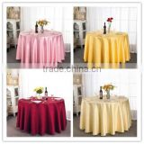 Wholesale High Quality Table Cloth Hotel Table Cloth Simple OEM Polyester