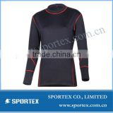 2014 sportex new women compression wear, China manufacture blank compression shirts, women compression sport wear