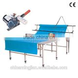 (NC type) Round knife Cloth end cutter machine(with extendable handle) MJ-B13 / Roller blind cutting machine
