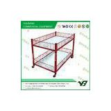 CE / ROHS supermarket equipments, Supermarekt Accessaries plastic coated or chrome coated
