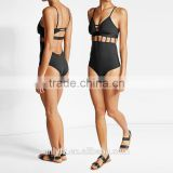 OEM Factory Sexy Plus Size Women's One Piece Swimsuit With Cut-Out Detail
