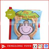 Baby Educational Toy Fabric Book Soft Cloth Book Peekaboo
