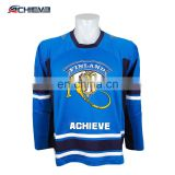 Reversible Sublimation Ice Hockey Jerseys Goalie Cut Quick dry Hockey Wear Custom Printing Team Hockey Gear