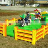 2013 hot sale inflatable bull riding machine