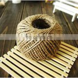natural wedding cheistmas decoration crafts jute twine jute yarn