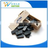Promotion printed wood Domino