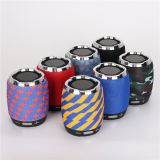 Wireless bluetooth card Speaker G13 mesh mounted bass gun mini Speaker fashion stereo subwoofer