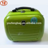 Youfeng oem hard shell cosmetic bags waterproof makup bags with soulder stripe
