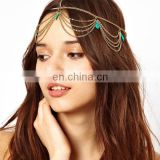 Wholesale women head jewelry bead hair headband