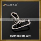 Custom Zinc Alloy Dog Leash Hardware For Dog Collar, Duarable Dog Leash Hardware Metal