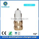 Car charger for mobile phone use and electric type mini color charger 5v 3.1a dual usb vehicle charger