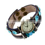 Genuine stingray watch pressing buckle leather bracelet free shipping paypal accept