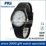 eco-friendly classical style leisure plastic wrist watch for young simple hand plastic watch