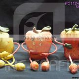 Polyresin fruits figurine harvest festival handicrafts set