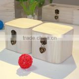 2015 Wooden Treasure Chest Gift Box,Handmade Wood Carving Present