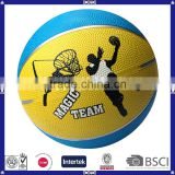 Wholesale Wearable Cool Figure Printing Inflatable Rubber Basket Balls