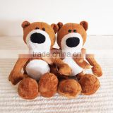 Wholesale Plush Toy Long Leg Teddy Bear /Soft Gift Toy Bear with Silk Bow/Stuffed Toy Brown Bear