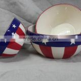 """Pinsun""set of 3pcs bowl,porcelain rice bowl,ceramic soup bowl,ceramic popcorn bowl"