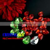 Fancy Garment no hole acrylic beads, tear drop/ water drop shaped acryl stones in bulk for clothing