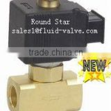 YSV02K brass magnetic gas valve