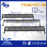 Original factory 2 Rows LED Light Bar 42inch240w Auto LED Light Bar 4x4 LED Light Bar 4D