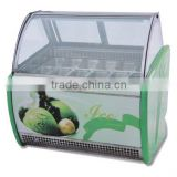 PK-JG-CB1200 Elegant shape, Wide application,Safe and easy to operate Cooling scries for Supermarket Ice Cream Display Showcase