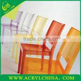 2013 Colored Acrylic Chair Sale Wedding Chair