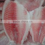 Skinless Tilapia Fillet IQF Frozen Fish Fillet