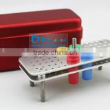 60 Holes Aluminium autoclave stainless steel sterilization box